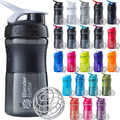 Blender Bottle SportMixer 20 oz. Tritan Grip Shaker Sport Mi
