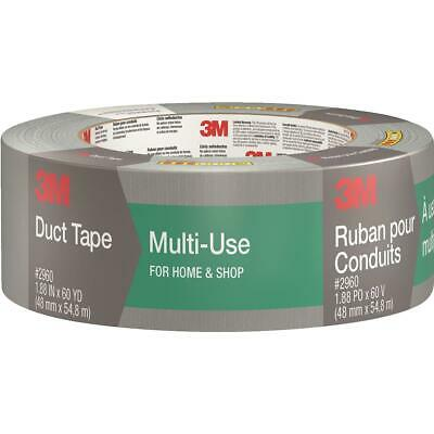 3m 1.88 In. X 60 Yd. Multi-use Home Shop Duct Tape Gray 2960-a - 1 Each