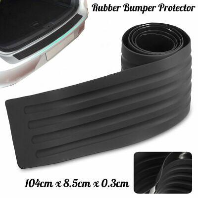 104cm Car Rear Bumper Sill Body Guard Protector Rubber Plate Trim Strip Cover UK