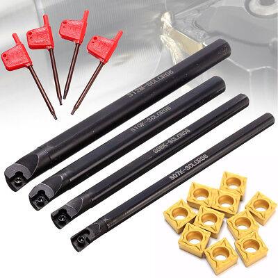 781012mm Sclcr06 Turning Boring Lathe Bar 10pcs Ccmt0602ccmt21.5 Insert