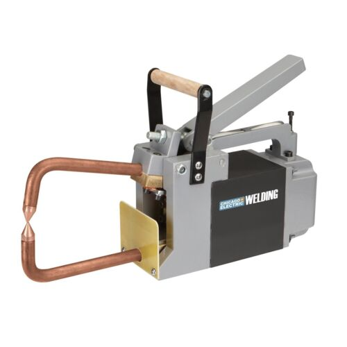 220 - 240V Volt Electric Spot Sheet Welding Machine Welder with 6 in. tongs