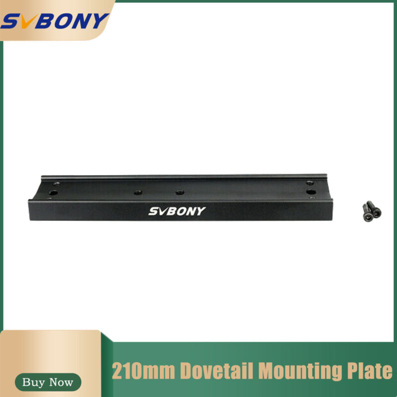 SVBONY 210mm Telescope Dovetail Mounting Plate for Equatorial Tripod brand new