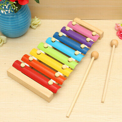 Wooden Musical Instruments Babies - Wooden Musical Xylophone Piano Instrument Education Development Kids Child Toy