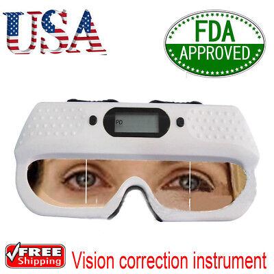 12v Eyes Optical Digital Pd Ruler Pupilometer Interpupillary Distance Scale Us