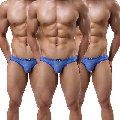 3 Pack Men's Briefs Classic Pouch Bulge Underwaer Better quality Underpants