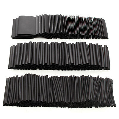415pcs 10 Sizes Assortment Ratio 2:1 Heat Shrink Tubing Sleeving Wrap Wire Kit