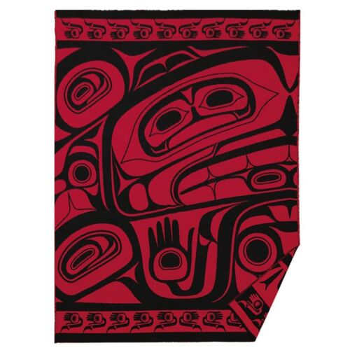 """Haida Woven Blanket """"Treasures Of Our Ancestors"""" Design by Donnie Edenshaw"""