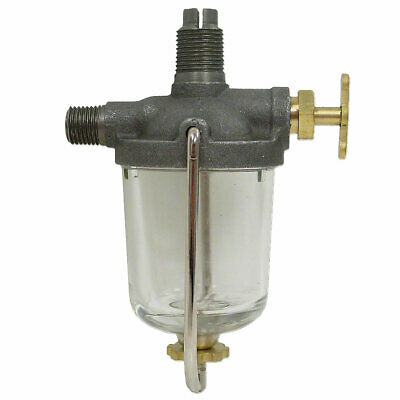 Fuel Sediment Bowl Assembly A B D G Gp H Cast Iron Brass Handle John Deere 546