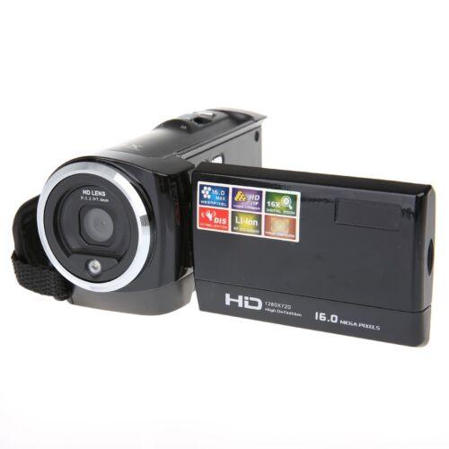 Full HD 1080p 16MP Digital Video Camcorder Camera DV HDMI 2.7'' TFT LCD 16X ZOOM