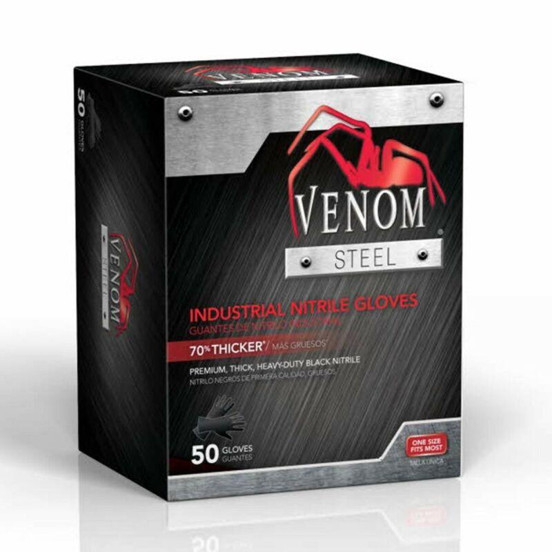 Venom Steel - RIP Resistant Industrial Gloves - 50 Gloves