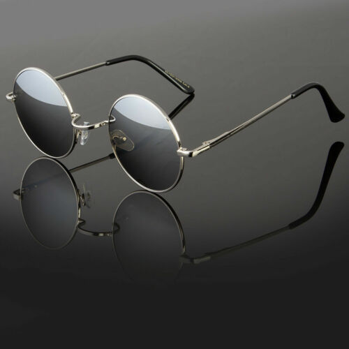 Brand Designer Round Metal Sunglasses Steampunk Men Women Retro Fashion Glasses
