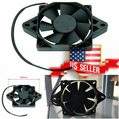 US Stock ! 12V Motorcycle Scooter ATV Dirt Bike Oil Water Cooling Fan