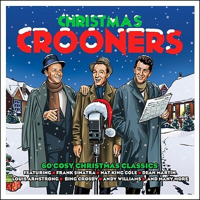 Christmas Crooners VARIOUS ARTISTS Best Of 60 Songs HOLIDAY MUSIC New 3
