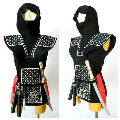 Rubies Child Boy Black Ninja Action Wear Halloween Costume Large New Opened Box ](Baby Wearing Halloween Costumes)