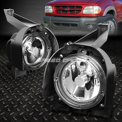 FOR 99-01 FORD EXPLORER UN150 SUV CRYSTAL CLEAR LENS OE BUMPER DRIVING FOG LIGHT 01 Ford Explorer Crystal