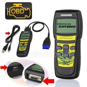 U581 Car Diagnostic Scanner CAN OBD2 EOBD Scan Tool Engine Fault Code Reader @UK
