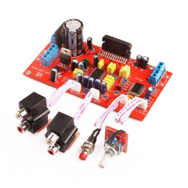 DROK® TDA7850 Car Amplifier Board 4*50W Treble Bass Adjustable DC/AC 12V HIFI 4