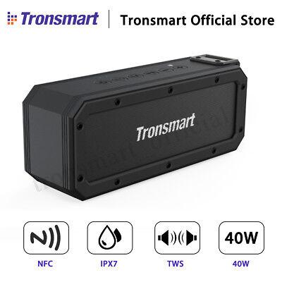 Tronsmart 40W TWS Wireless bluetooth Stereo Speaker IPX7 Waterproof NFC 6600mAh