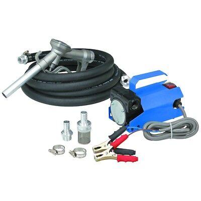 Battery Powered 12v Volt Diesel Light Oil Biodiesel Fuel Transfer Pump 10 Gpm