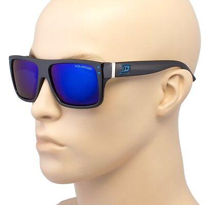 Men Polarized Sunglasses Vintage Mirror Driving Flat Top Sport Eyewear (Top Eyewear)