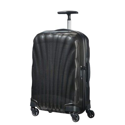 "Samsonite Cosmolite 3.0 20"" BLACK Carry on Spinner Luggage 4-wheeled 80407-1041"