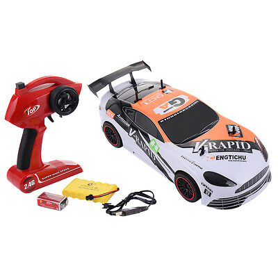 (1:10 2.4G 4CH RC Super High-speed Racing Car Radio Remote Control Vehicle New)