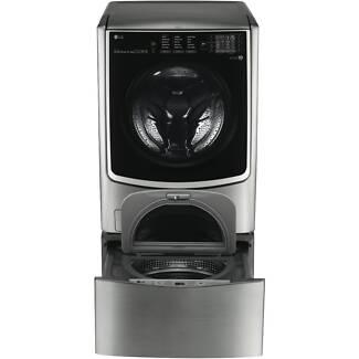 LG TWIN Wash - 2 x Washing Machines and Dryer COMBO