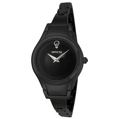 Invicta 23272 Women's Black Dial Black IP Steel Quartz Watch