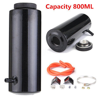 800ml Overflow Catch Tank Radiator Coolant Expansion Tank Bottle Header Aluminum