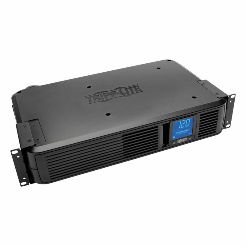 Tripp Lite 1500VA Smart UPS Battery Back Up, 900W Rack-Mount/Tower, LCD, AVR,...