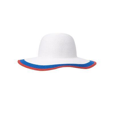 Janie & Jack Wide Brimmed 4 July Best Collection Sunhat 12 - 24 Month (Best Baby Sun Hat)
