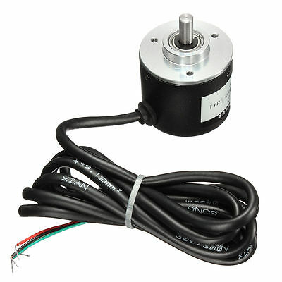 Rotary Encoder 400pr 6mm Incremental Optical Shaft Working Measurement 5-24v Ed