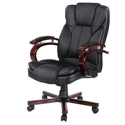 Ergonomic Desk Task Office Chair High Back Executive Computer New Style Black on Rummage