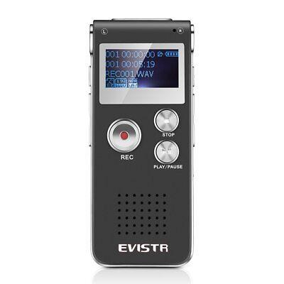 Best Mini Voice Recorder 8GB / 560Hrs Capacity Digital Audio Recorder NIB