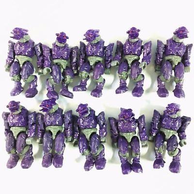 10PCS Mega Block Battle Unit Covenant Purple Combat Elite mini Figure boy - Mega Toys
