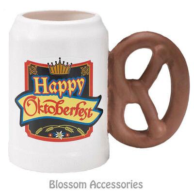A927 Happy Oktoberfest Plastic Stein Beer Drinking Mug with