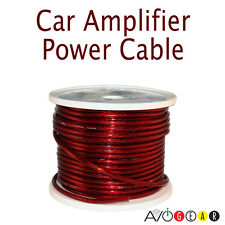 New 10 Feet Premium 4 Gauge Car Audio Power/Ground Cable Wire 4 AWG Red 3.05 M