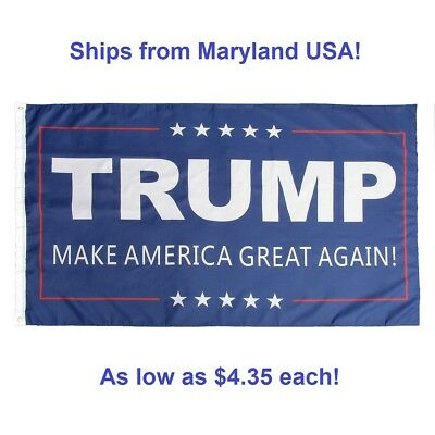 3' x 5' Trump Flag - Make America Great Again MAGA  - Donald USA President - US