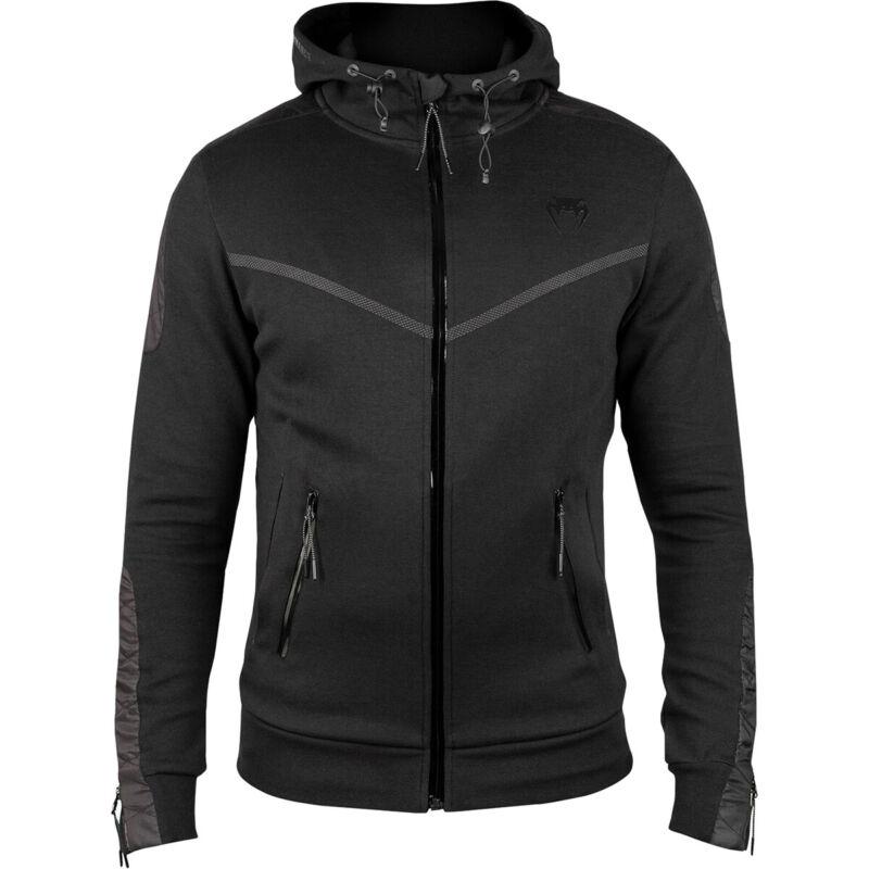Venum Laser Evo Full Zip Hoodie - Black