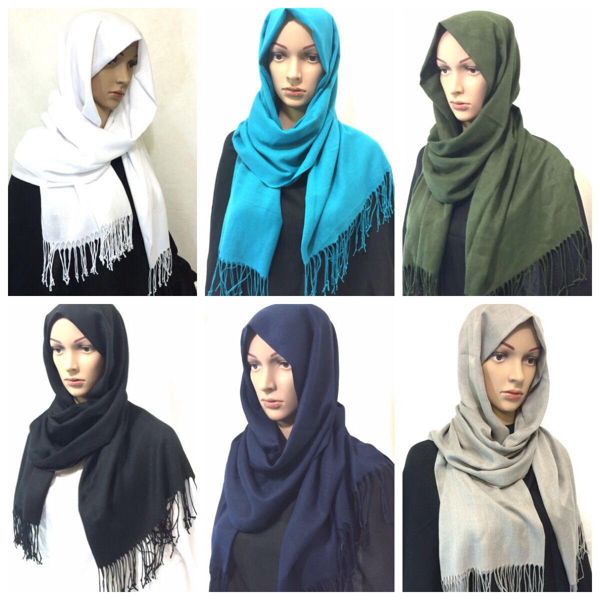 Qualität Damen Schal Kopftuch Schultertuch *Khimar muslim Tuch Hijab islam*