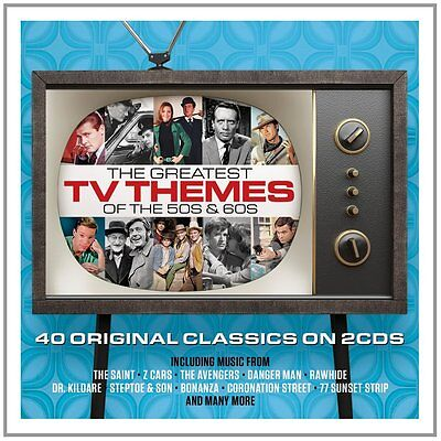 Greatest TV Themes Of The 50s & 60s VARIOUS ARTISTS Best Of MUSIC New 2