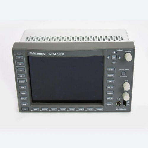 Tektronix Video WFM5200 SD/HD/3G-SDI & Dual Link Multiformat Compact Waveform