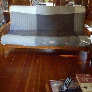 Sofa 3 places en bois