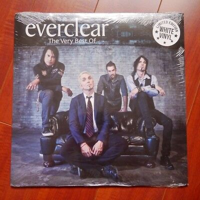 """Everclear """"The Very Best Of"""" LP Vinyl White Limited Edition"""