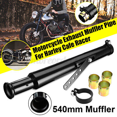 Universal Motorcycle Exhaust Muffler Pipe Reducer Cocktail Shaker Tul +-