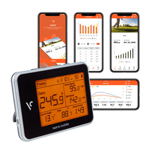 Voice Caddie SC300 Portable Golf Launch Monitor