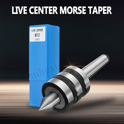 Mt2 2mt Precision Live Center Morse Taper Triple Bearing Lathe Medium Duty Cnc