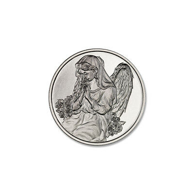 Angel In Your Pocket 1/2 oz .999 Silver USA Made American BU Round Bullion - Angel In Your Pocket
