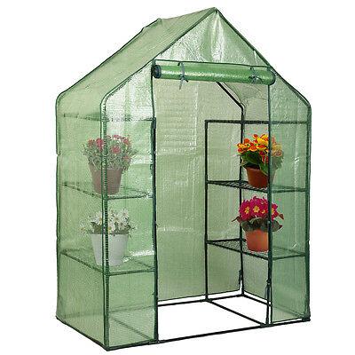 Portable Mini 8 Shelves Walk In Greenhouse ...