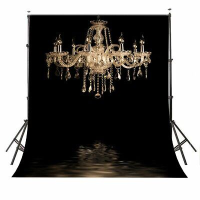 5x7' European Chandelier The Great Gatsby Photography Backdrop Party Theme Decor - Great Gatsby Themed Decorations